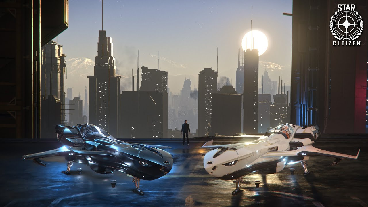 Star Citizen: Kruger P-52 Merlin and P-72 Archimedes