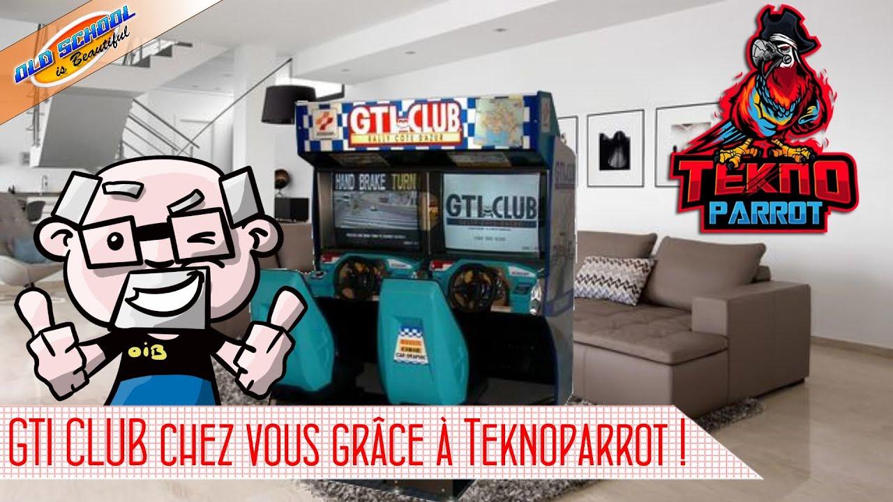 [TUTO]Jouer à GTI Club sur PC avec Teknoparrot