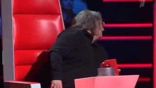 "Голос 3 сезон - Илья Римар ""Dicitencello vuie"" (Скажите, девушки)"