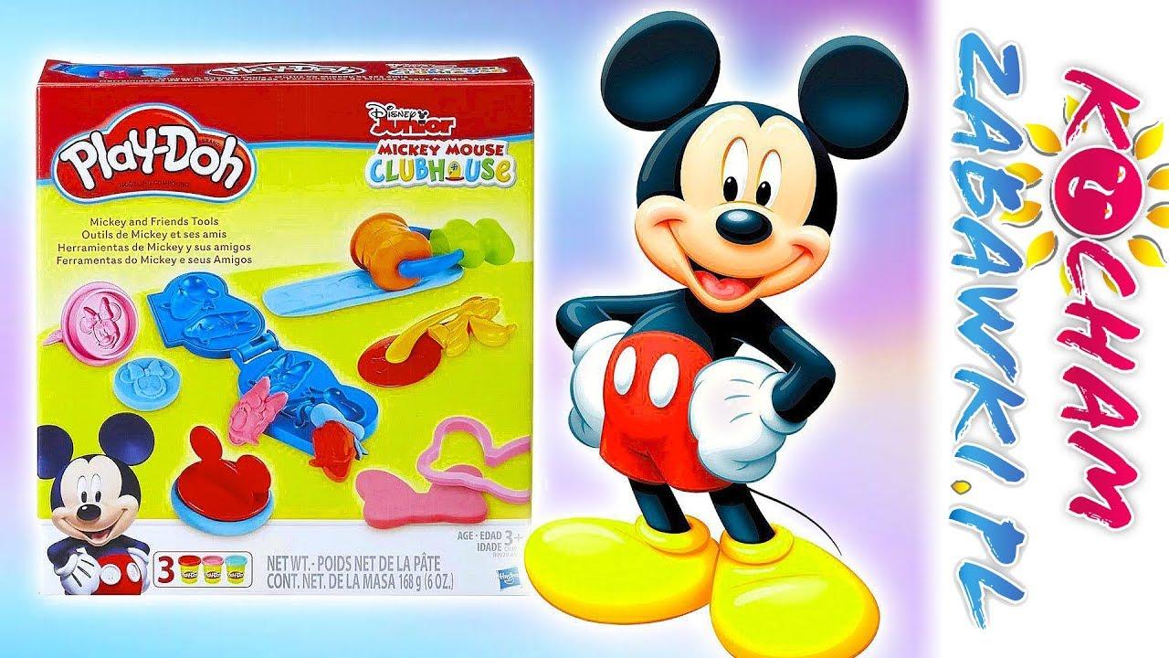 Play Doh • Myszka Miki • Super pieczątki Mikiego • openbox i kreatywne zabawki