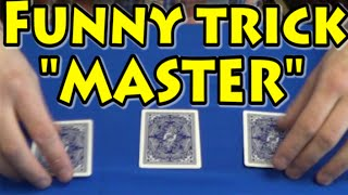 "FUNNY Card MAGIC TRICKS Tutorial 2016 ""MASTER"". Easy Great CARD TRICKS Tutorial #cardtrickstutorial"