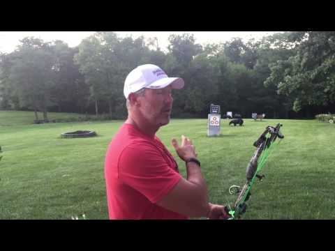 Proper Archery Follow through for better accuracy with John Dudley of Nock On