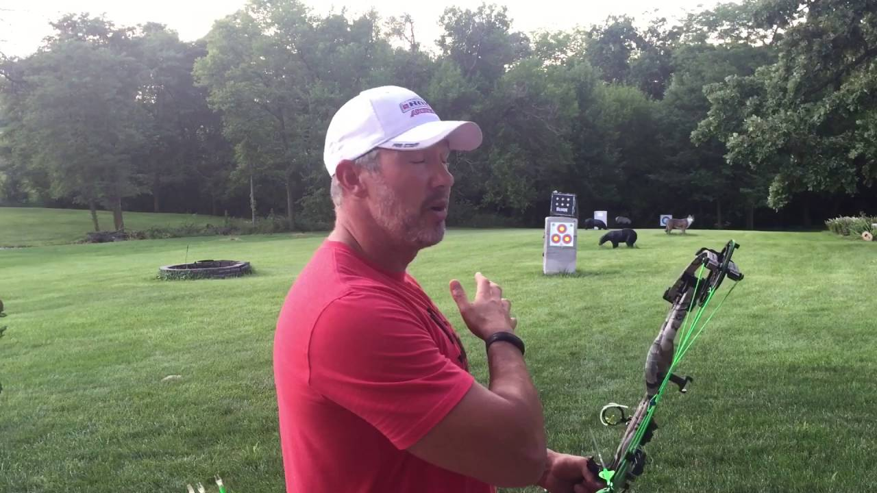 proper archery follow through for better accuracy with john dudley