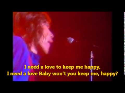 The Rolling Stones - Happy 1976 Version (Lyrics Subtitles)