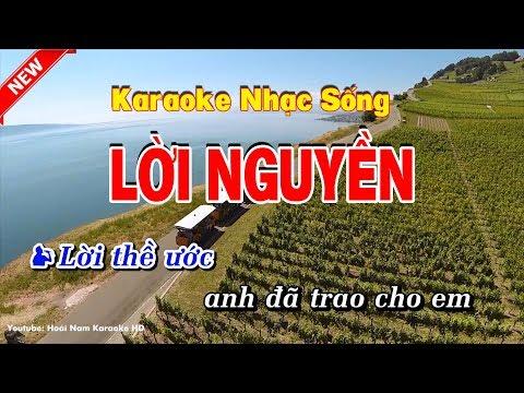 Karaoke Lời Nguyền -⚜️❣️Thang Hiến ft Tùng Anh❣️⚜️