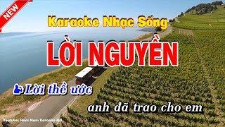 Karaoke Lời Nguyền - Hoài Nam Karaoke HD