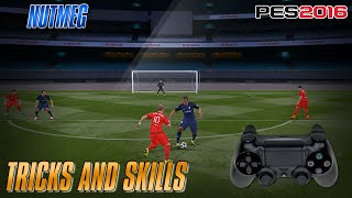 PES 2016 Tricks and Skills Tutorial PS4 PS3