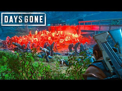 Days Gone - STEALTH KILLING AN ENTIRE HORDE | Days Gone Free Roam Gameplay (#28)