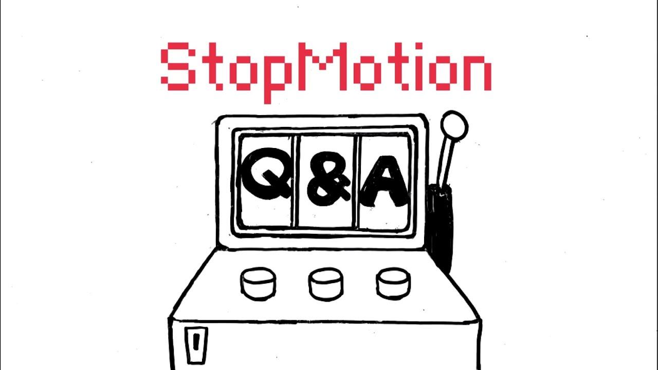 [ENG] STOPMOTION Q&A/ Q&A까지 스톱모션으로 만들어버린 유튜버가 있다?!