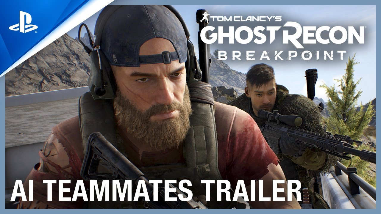 Ghost Recon Breakpoint - AI Teammates Trailer | PS4 thumbnail