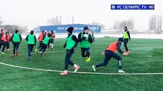 09.03.2018 - Тренировка олимпийцев перед отъездом во Львов