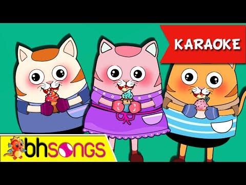 Three Little Kittens Karaoke   Nursery Rhymes   Kids Songs [Ultra 4K Music Video]