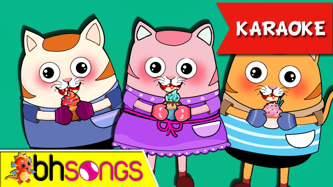 Three Little Kittens Karaoke Nursery Rhymes Kids Songs Ultra 4k Music Video Youtube