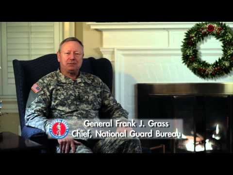 Gen  Frank J Grass Holiday Message