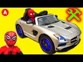 🚗 Superhero Mechanic Adam Unboxing Electric Car Toy 👍