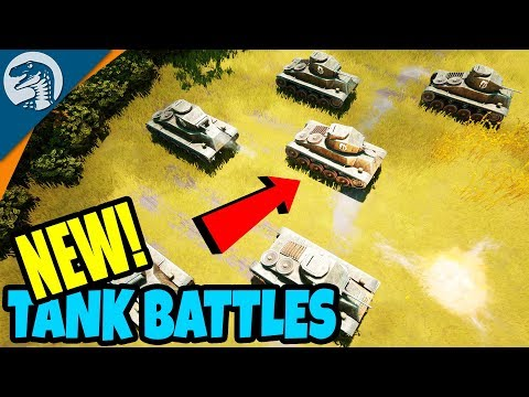 TANKS, TROOPS, TRANSPORTS - BIG BATTLES | Foxhole Multiplayer Gameplay