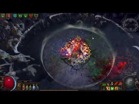 Path of Exile Summon Raging Spirits 75 The Elder
