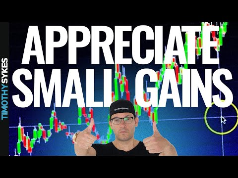 How Small Gains & Smaller Losses Add Up Over Time