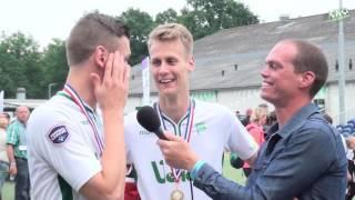 NK Veldkorfbal 2016 Nabeschouwing + interviews finale Ereklasse