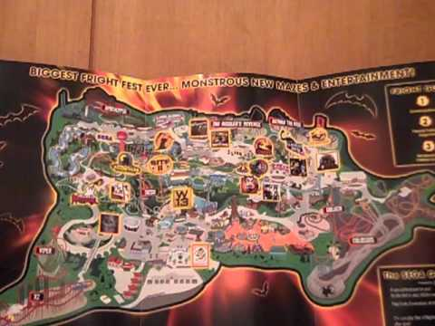 Six Flags Magic Mountain Fright Fest 2011 Map - YouTube on brasstown bald mountain map, crotched mountain map, great america map, schuss mountain map, knotts berry farm map, universal studios map, six flags map, knottsberry farm map, legoland map, steele peak shooting area map, cedar point map, boyne mountain map, dream catcher map, sunset strip map, robin hood map, disneyland map, knott's map, loon mountain map, mount snow map, new river state park map,