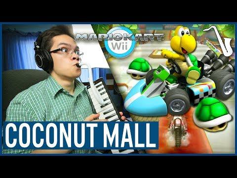 Mario Kart Wii: Coconut Mall Jazz Arrangement || insaneintherainmusic