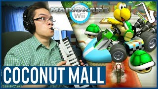 Mario Kart Wii: Coconut Mall Jazz Arrangement || insaneintherainmusic