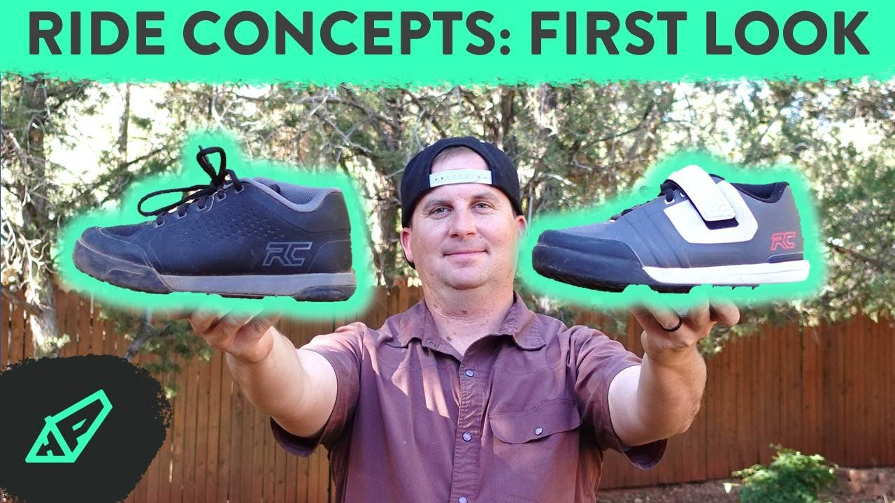 First Look and Unboxing Ride Concepts' Powerline and Transition MTB Shoes - Hardtail Party