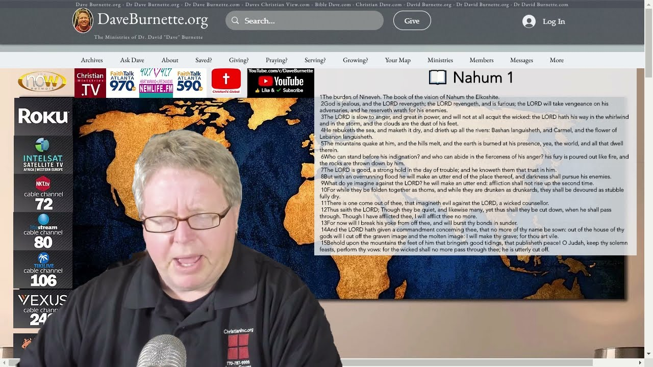 Nahum 1 ✒️ Remember the Past
