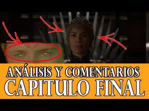 Análisis 6x10 Juego De Tronos Vientos De Invierno Final 6 Temporada Youtube