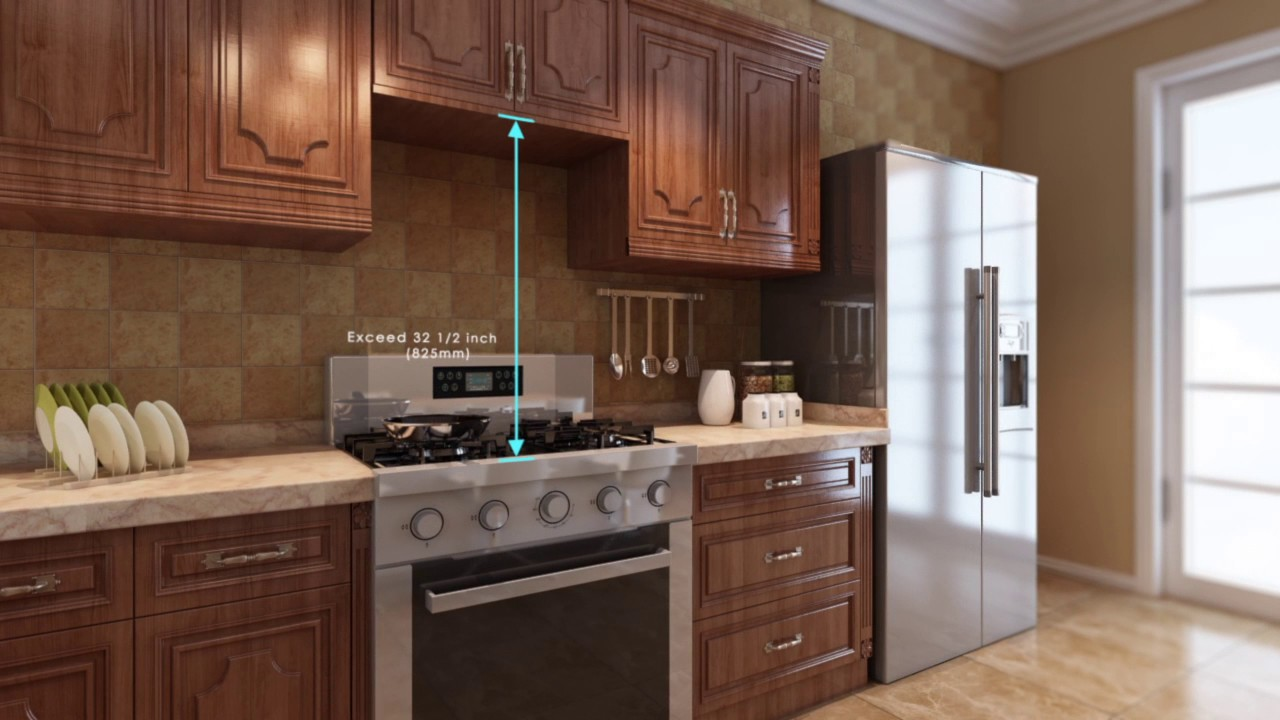 How To Install A Fotile Super Powerful Under Cabinet Range