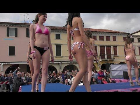 Miss Città di Noale 2016 Sfilata in Bikini e premiazioni