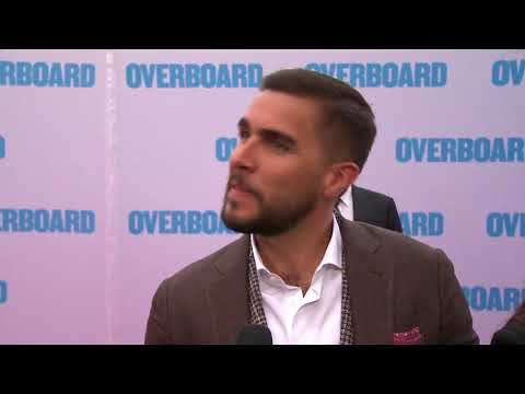 Overboard Los Angeles Premiere - Itw Josh Segarra (official video)