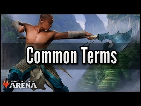MTG Arena - Common Terms