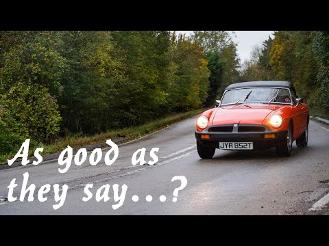 My First Drive In An MGB - Why You Should Buy One