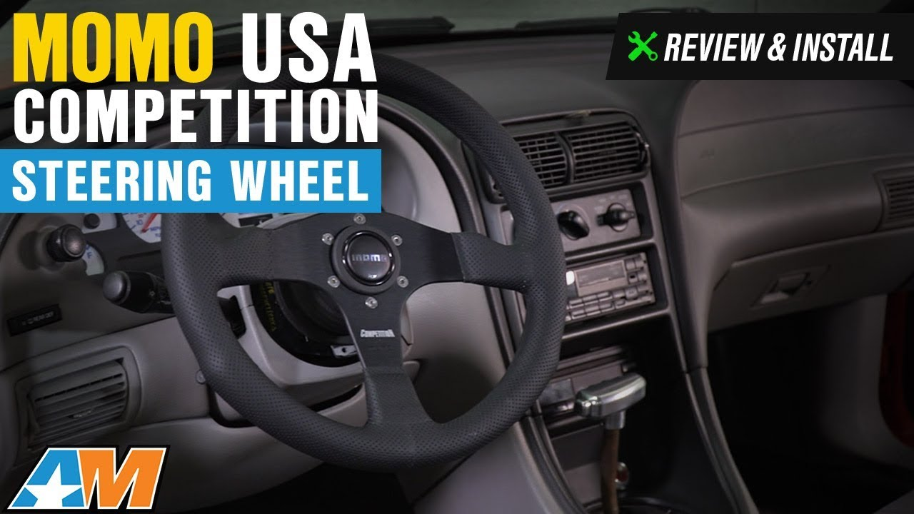 1984 2014 Mustang Momo Usa Competition Steering Wheel Review
