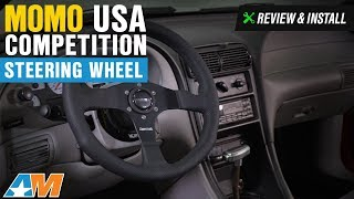 1984-2014 Mustang MOMO USA Competition Steering Wheel Review & Install