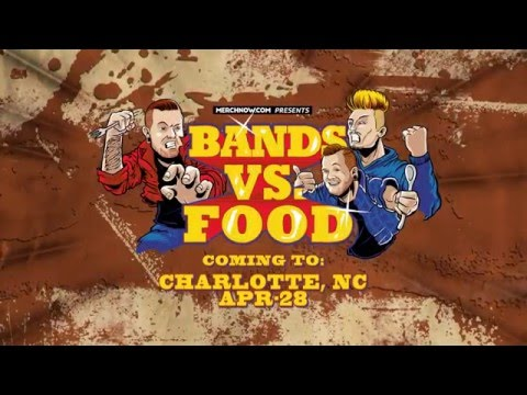 Bands Vs Food Tour Promo