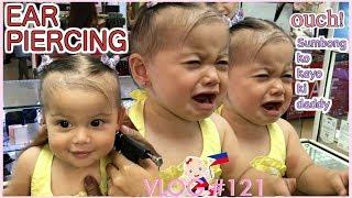 PHILIPPINES VLOG | MAKAPIGIL HININGA | 11 MONTHS EAR PIERCING | KALINGA NG MGA KUYA