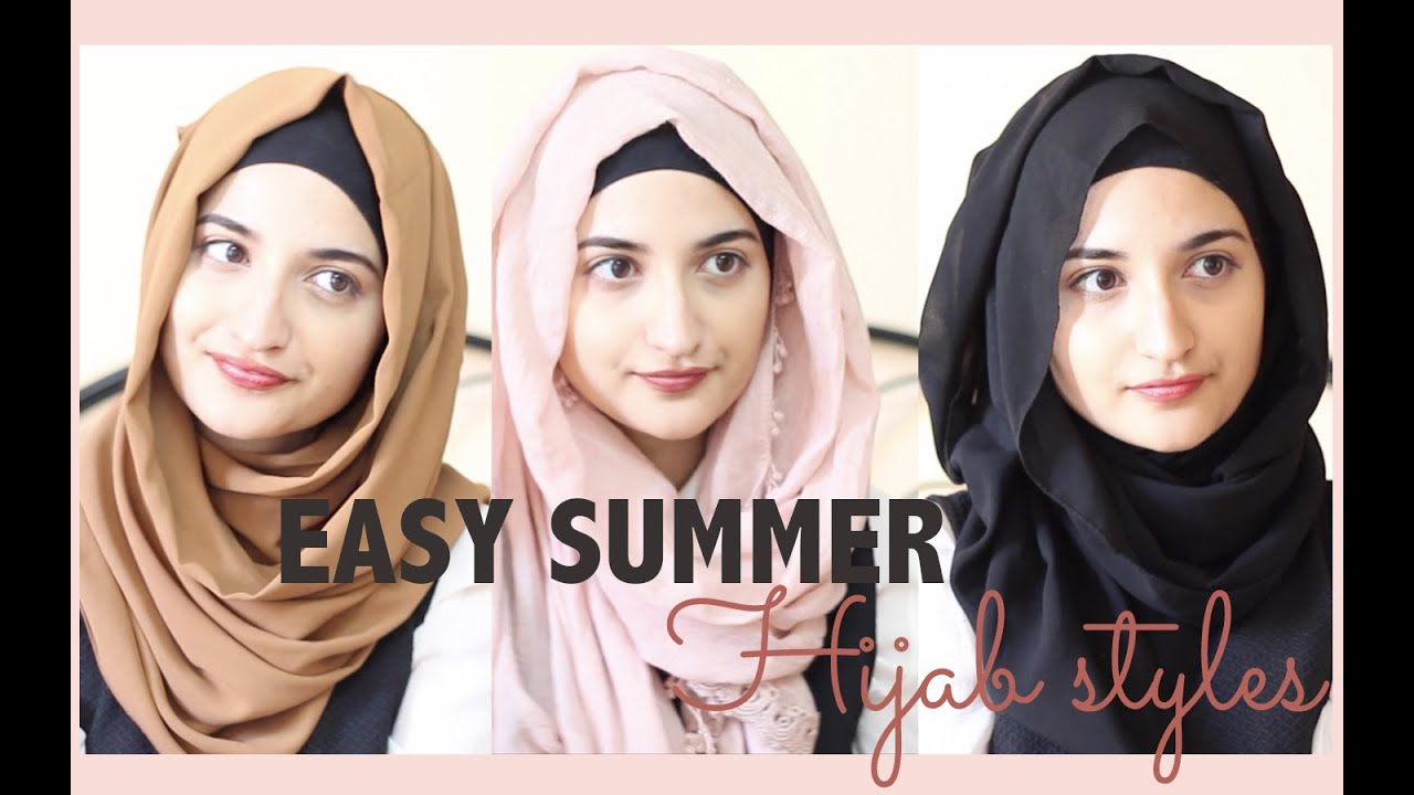 Easy Summer Hijab Styles Youtube