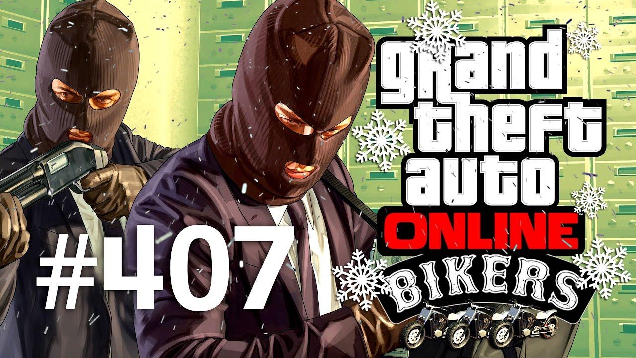 Grand Theft Auto V | Online Multiplayer | Episodul 407 (Bikers Update)
