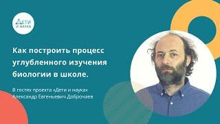 Александр Доброчаев в гостях у Дети и Наука