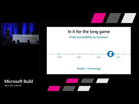 You Can't Start A Fire Without A Spark: AI For Accessibility : Build 2018