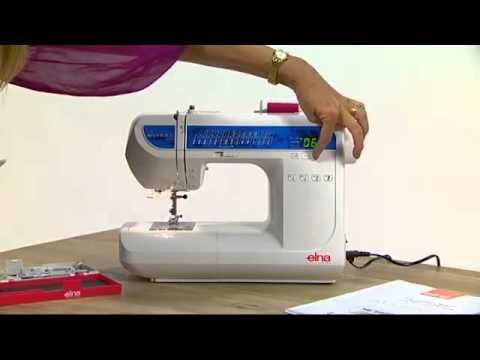 Elna 520 eXperience Sewing Machine Demonstration