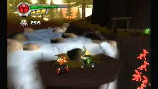 Power Rangers: Super Legends PS2 Game - Ninja Storm 1