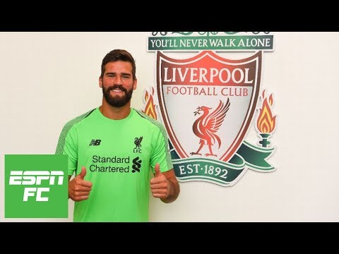 Liverpool now second favorites to win Premier League after Alisson signing [Analysis] | ESPN FC