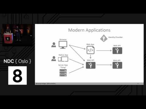 implementing authorization in web applications and APIs - Dominick Baier & Brock Allen