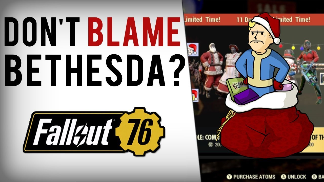 bethesda-fans-blame-fallout-76-fake-outrage-problems-on-youtubers-gaming-sites