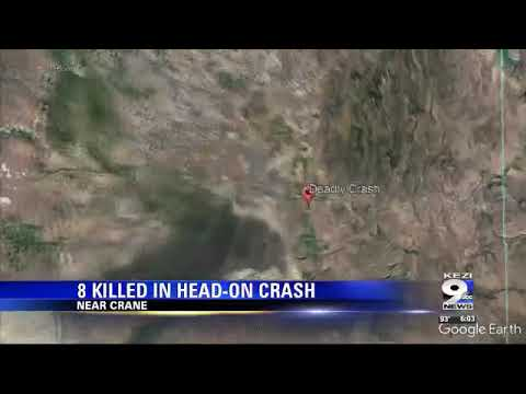 Eight killed in Harney County car crash