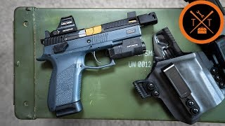 This CZ 75 P07 is INSANE....