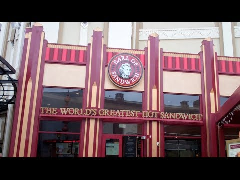 Mealtime at Disneyland- Earl of Sandwich (The Original 1762)